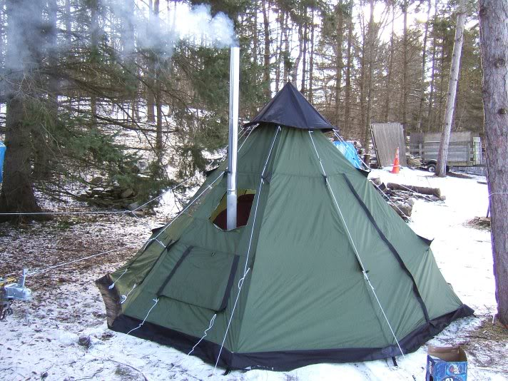 guide gear teepee - trial run